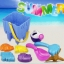 PA142 ชุดอุปรณ์ ทรายนิ่ม Soft Sand Play Sand ถังปราสาท พร้อมอุปกรณื 8 ชิ้น คละสี thumbnail 1