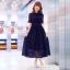 Maxi Dress เดรสลูกไม้ยาว thumbnail 12