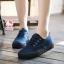 รองเท้าผ้าใบแฟชั่นแพลตฟอร์ม ทำจากผ้าใบสีทูโทนสดใสด้านนอก-ใน thumbnail 8
