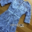 Lady Ariana Sweet Feminine French Lace Dress in Light Blue L217-95C17 thumbnail 8