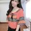 เสื้อชีฟองแต่งพู่ด้านหน้าสไตส์สาวโมฮีเมี้ยนสีสันสดใสผ้าใสสบาย thumbnail 3