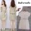 Dress เดรสทรงโอเวอร่ไซร์ แฟนชั่นเกาหลี เ thumbnail 1