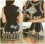 Lady Annie Vintage Style Embroidered Sleeveless Dress thumbnail 9