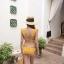 2008 ชุดว่ายน้ำ บิกินี่ทูพีช สีเหลืองมัสตาร์ด thumbnail 4