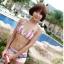 SM-V1-301 ชุดว่ายน้ำแฟชั่น คนอ้วน เด็ก ดารา thumbnail 5