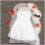 เดรสแขนกุด ผ้าออแกรนิคปักลายดอกไม้ทั้งชุด thumbnail 2