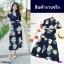Maxi Dress แมกซี่เดรสยาว คอวี งานพิมพ์ลายดอกดอกไม้ thumbnail 9