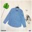 เสื้อยีนส์ ปกเชิ้ตทรงเก๋ แขนยาว แต่งกระเป๋าหน้า2ข้าง thumbnail 7