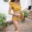 2008 ชุดว่ายน้ำ บิกินี่ทูพีช สีเหลืองมัสตาร์ด thumbnail 1