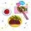 M154 ขนมญี่ปุ่น DIY ของเล่นกินได้ Playing House Kitchen Gummy thumbnail 3