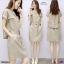 Dress เดรสทรงโอเวอร่ไซร์ แฟนชั่นเกาหลี เ thumbnail 2