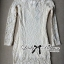 DR-LR-130 Lady Lindsay Off-shoulder Lace Body-con Dress in Ivory thumbnail 6