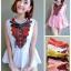 เสื้อผ้าญี่ปุ่นเนื้อดีปักเลื้อมงานดีสวย thumbnail 2