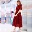 Maxi Dress เดรสลูกไม้ยาว thumbnail 9