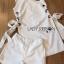 Lady Lucy Minimal Chic Metal Loop Ribbon White Dress L275-7917 thumbnail 19