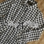 DR-LR-233 Lady Diana Glam Ruffle Houndstooth Shirt Dress thumbnail 5