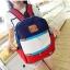 กระเป๋าเป้สะพายหลัง สีสันสดใสสไตล์เกาหลี thumbnail 3