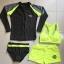 ชุดว่ายน้ำแขนยาว สีเทา กางเกงเขียวสะท้อนแสง (เซ็ต 4 ชิ้น) thumbnail 12