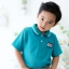 เสื้อโปโลเด็ก สีเขียว thumbnail 2