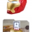 KA046 กระปุกออมสิน ตู้เซฟ ดูดเงินอัตโนมัติ ไอรอนแมน Iron man thumbnail 3