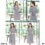 Maxi Dress แม็กซี่เดรส เดรสยาว งานผ้าคอตตอนทอลายสก็อต thumbnail 4