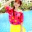 SM-V1-304 ชุดว่ายน้ำแฟชั่น คนอ้วน เด็ก ดารา thumbnail 4