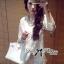 DR-LR-110 Lady Melanie Elegant Camelia White Organza Dress thumbnail 10