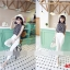 เสื้อชีฟองแขนกุด + กางเกงขายาวสีขาว thumbnail 3