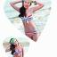SM-V1-252 ชุดว่ายน้ำแฟชั่น คนอ้วน เด็ก ดารา thumbnail 6