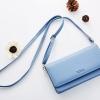 กระเป๋าสตางค์สะพายข้าง Just For You Cover สีฟ้า