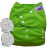 กางเกงผ้าอ้อมกันน้ำ เด็ก 2-5 ขวบ รอบเอว 14-28 นิ้ว +แผ่นซับจัมโบ้ 2แผ่น -Green