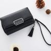 กระเป๋าสตางค์ใบกลาง Just For You M Classic สีดำ
