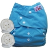 กางเกงผ้าอ้อมกันน้ำ เด็ก 2-5 ขวบ (หนัก14-25กก) รอบเอว 14-28 นิ้ว +แผ่นซับจัมโบ้ 2แผ่น -Blue