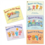 Bears on Chairs 5 Books Collection : Shirley Parenteau & David Walker เซตหนังสือหมีน้อย นิทานรางวัล