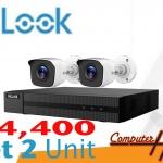 ชุดกล้อง CCTV 1ล้าน Hilook [2จุด]