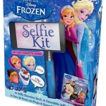 Disney Princess Parragon : Frozen Selfie Kit : Selfie Book + Masks + Press out Props + Selfie stick + Reversible Scene : เซตเซลฟี่ โฟรเซ่น เอลซ่า อันนา Elsa Anna