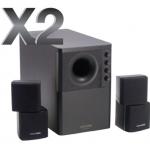 SPEAKER MICROLAB X2 2.1 [Black]