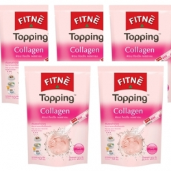 FITNE' TOPPING COLLAGEN 5 * 10P