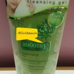 Smooth E Babyface Gel สูตร Extra Sensitive Cleansing 3.3 Oz