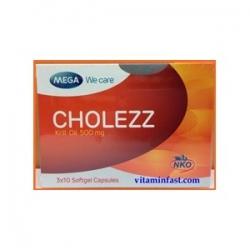 Mega We Care Cholezz (Krill Oil) 30 capsules