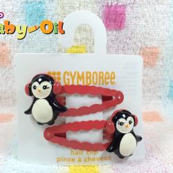HP009••กิ๊บติดผมเด็ก•• / เพนกวิน (Gymboree)
