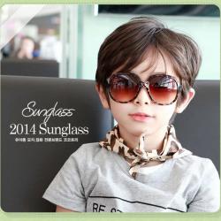 GS003••แว่นตาเด็ก••ลายเสือดาว