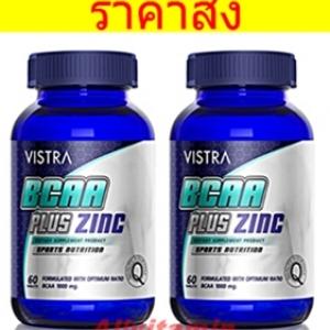 VISTRA BCAA PLUS ZINC - 2 * 60T