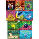 The Crunching Munching Caterpillar and Other Stories Collection - 10 Books & CDs (Collection)