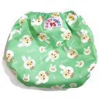 Swim nappy Size 7-14 kg. ผ้าอ้อมว่ายน้ำ ซักได้ -สีเขียว กระต่าย