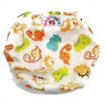 Swim nappy Size 7-14 kg. ผ้าอ้อมว่ายน้ำ ซักได้ -สีขาว ไดโนเสา