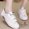 รองเท้าผ้าใบผู้หญิงไซส์ใหญ่ 41-42 EU สีขาว รุ่น KR0509