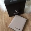 Box Set ชุดของขวัญ PLAYBOY Saffiano Leather Wallet Limited Edition