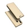 เคส Zenfone 5 (ZE620KL) เคสฝาพับเกรดพรีเมี่ยม (เย็บขอบ) พับเป็นขาตั้งได้ สีทอง (Dux Ducis)