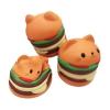 สกุชชี แมวแฮมเบเกอร์ Squishy Cat Hamburger หอม นุ่ม สโลว์ๆ